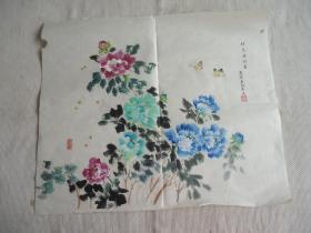 国画花卉蝴蝶画