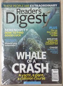 Reader·s digest 读者文摘 2013年 第10期 原版外文英文期刊
