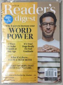 Reader·s digest 读者文摘 2017年 第11期 原版外文英文期刊