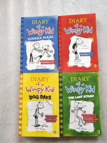 Diary of a Wimpy Kid(四本合售)