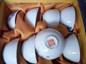 景德镇小酒杯1盒12个