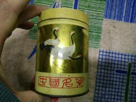 茶叶罐(仙鹤)