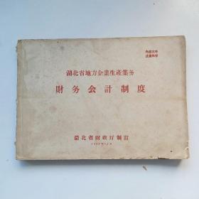 1959年湖北省地方企业生产业务.财务会计制度