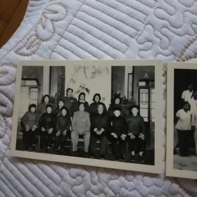 复古老照片  毛主席与家乡父老在一起: