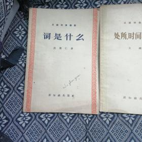 汉语知识讲话:词是什么