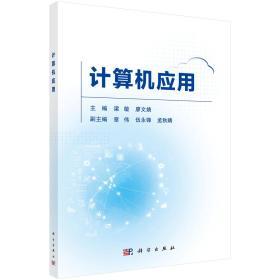 二手正版计算机应用 梁敏 科学出版社9787030596543