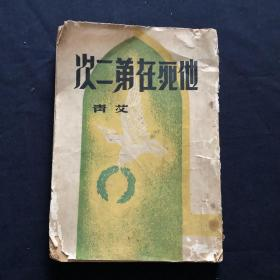他死在第二次  著名诗人艾青著作
