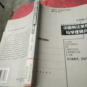 中国刑法案例与学理研究  分则篇 ( 六)