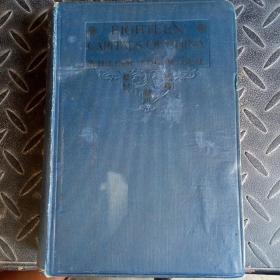 ElGHTEEN CAPlTALS OF CHINA(1911年英文书,介绍中国各地,毛边本429页 图片约80张左右)