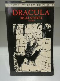 布莱姆·斯托克:德库拉 Dracula by Bram Stoker ( Dover 2000年版) (爱尔兰)英文原版书