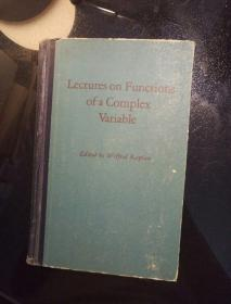 Lectures on Functions of a Complex Variable