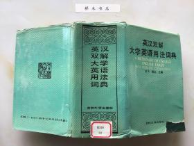 英汉双解大学英语用法词典(精装)