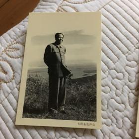 复古照片 工艺 毛主席与同时代伟人们在一起