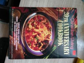 Canadian  Living    20TH  ANNIVERSARY  COOKBOOK  英文原版   加拿大生活  二十周年食谱