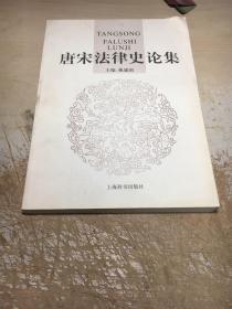 唐宋法律史论集