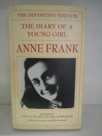 安妮日记 The Diary of a Young Girl  by Anne Frank (犹太人)英文原版书