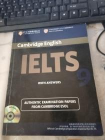 Cambridge English IELTS剑桥雅思考试全真试题9【无光盘】