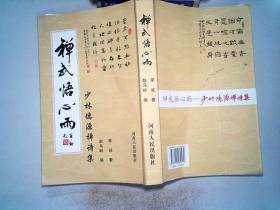 禅武悟心雨——少林德源禅诗集、