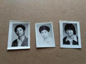 老照片 3张合售