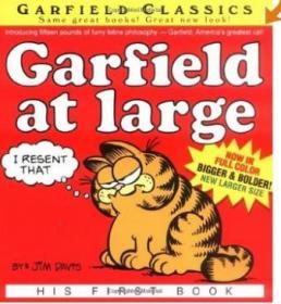 英文原版 加菲猫漫画 Garfield at Large: His First Book