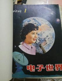 电子世界(1979年1-3期含1创刊号 80年1-12)精装合订