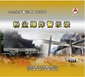 2019年安全月 粉尘爆炸警示录 2DVD教育视频光盘9F05g