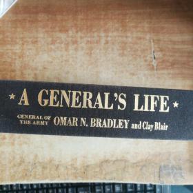 将军的生活  原版英文1983 【看实图】  A  GENRAL S  LIFE