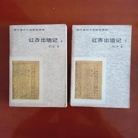 红杏出墙记(上、下两册全)