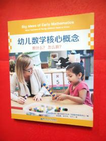幼儿数学核心概念:教什么?怎么教?
