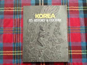 KOREA ITS HISTORY & culture
