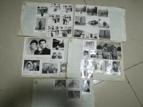 黑白老照片,80年代,大小共67张合售。