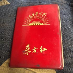 红皮日记本 东方红