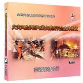 2019年安全月 火灾风险识别与落实消防安全主体责任 2DVD教育视频光盘9F05g