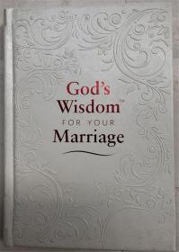 精装 Gods Wisdom for Your Marriage  上帝对你婚姻的智慧