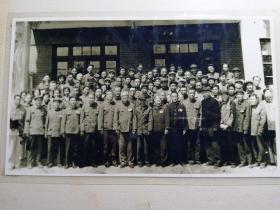 老照片,原滇桂黔边区罗盘地区部份同志合影