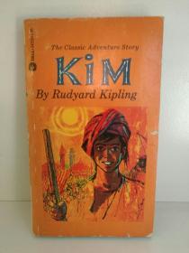 拉迪亚德·吉卜林 Rudyard Kipling :Kim ( Dell 1979年版) 英文原版书