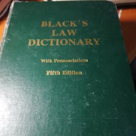 BLACK SLAWDICTIONARYWith PronunciationsFifth Edition