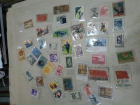 邮票  合售