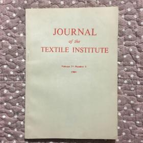 JOURNAL OF THE TEXTILE INSTITUTE Volume79 Number1- 纺织学院学报(看图)