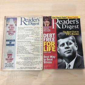 1Readers Digest 1986 March  2Readers Digest 2005 两本合售