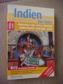 Indien (der Suden) 德文原版  《印度》全铜版纸 图文本 基本是全新