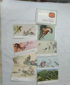 明信片,中国刺绣一套