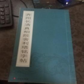 山东墓志精华--齐州长清真相院舍利塔铭字贴