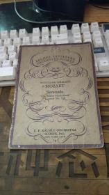 阿尔摩斯小型管弦乐队乐谱80号、、1933年?