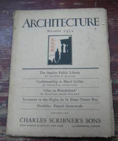 ARCHITECTURE   November 1932