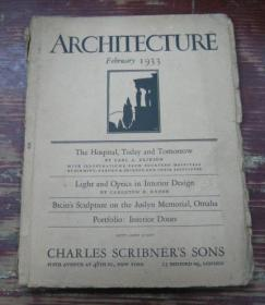 ARCHITECTURE   February  1933