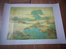年画:汉宫春晓图(袁耀绘画)(文物出版社1984年)(4开)