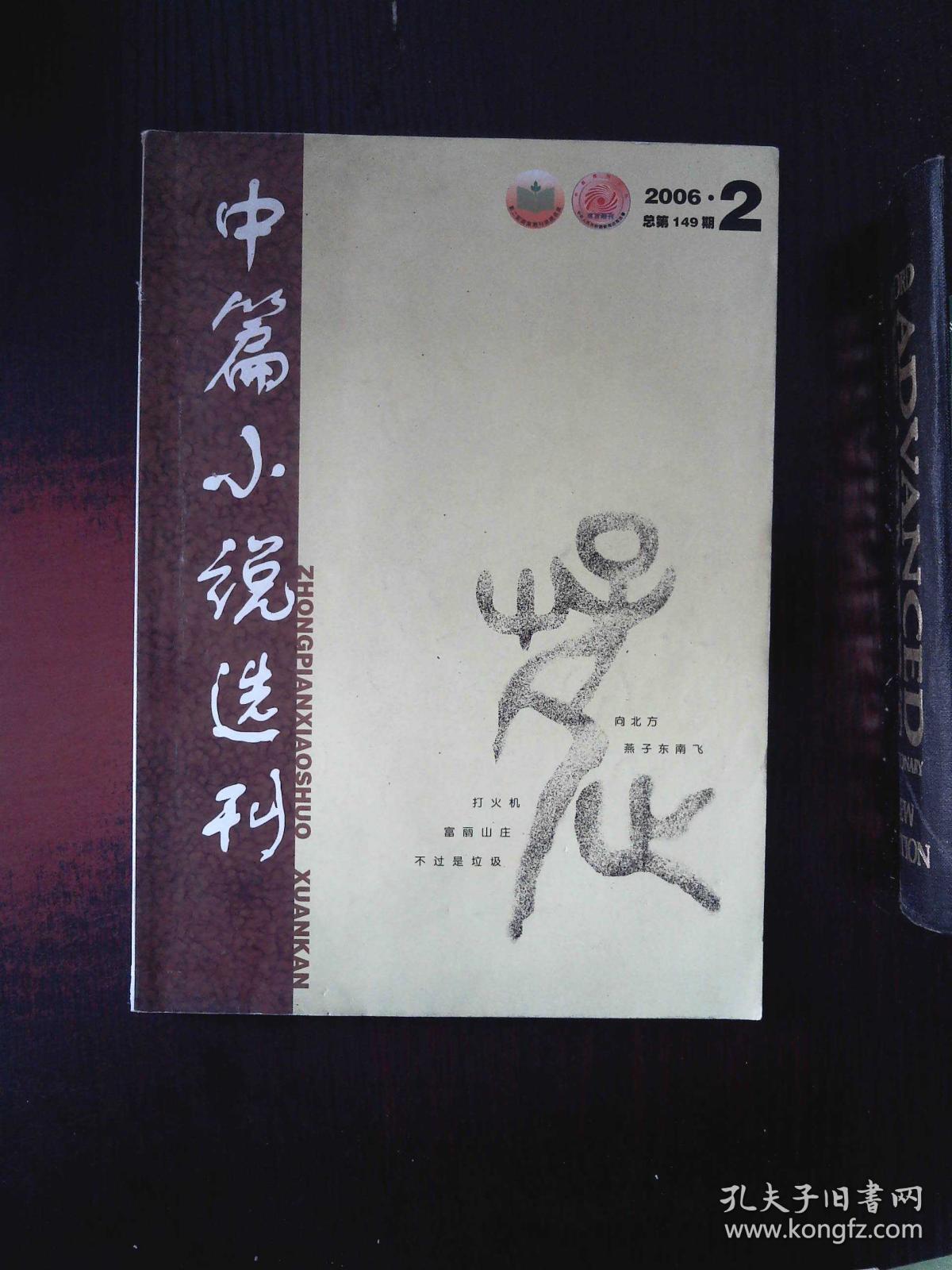 中篇小说选刊 文学双月刊 2006.2