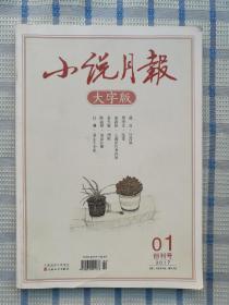 小说月报【大字版】创刊号