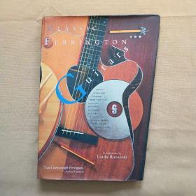 CLASSIC FERRINGTON Guitars(英文原版 附光盘)书设计的很有意思 一边大一边小